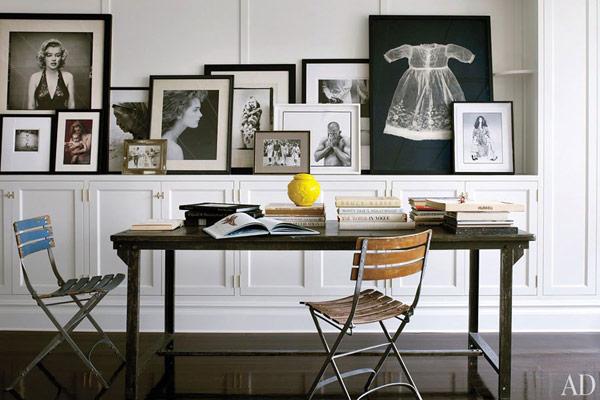ad-quadros-encostados-decoracao-casa-brooke-shields