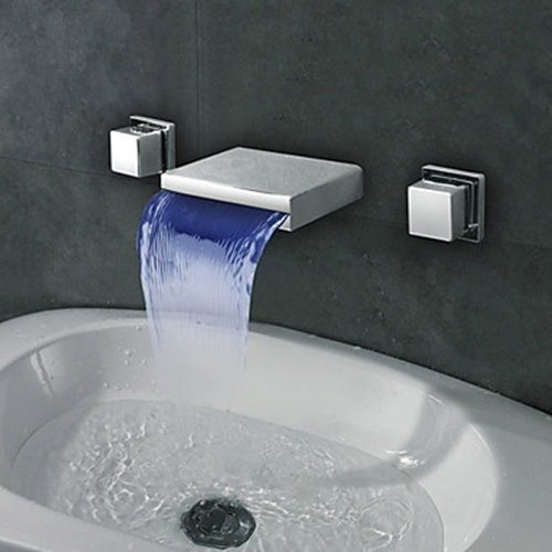 Contemporary_Widespread_Wall_Mount_Waterfall_LED_Bathroom_Sink_Faucet_(3_Colors)